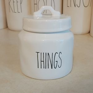 Ceramic Dimpily THINGS Canister